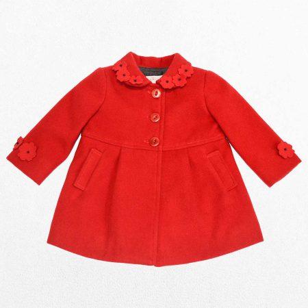 abrigo rojo frontal