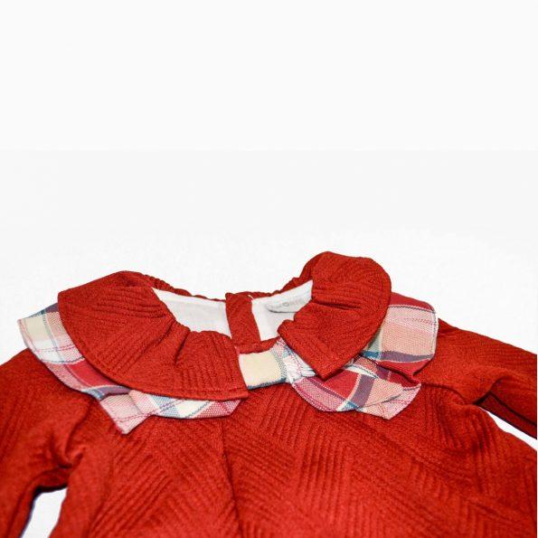 vestido rojo para nina