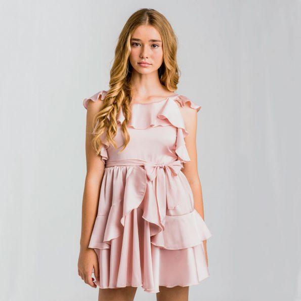 Vestido para adolescentes rosa